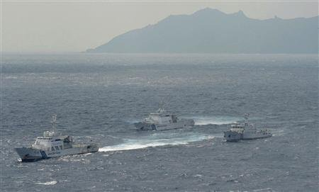 Japan protests as Chinese ships enter disputed waters - Yahoo! News