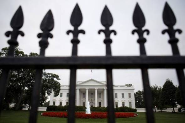 President Obama and his successors in the Oval Office are not obligated to make public the names of individuals visiting the White House, according to a decision of the federal Circuit Court for the District of Columbia made public Friday. (AP/Jacquelyn Martin)
