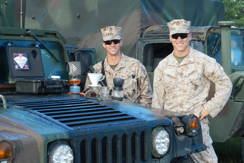 The Marines Secret Weapon: Coffee - NYTimes.com