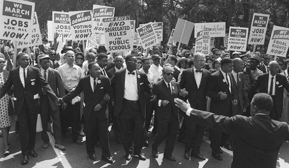 The March on Washington, August 28, 1963.