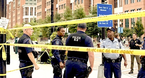 The Navy Yard rampage demonstrates the gun control debate's sterility, the author says. | AP Photo