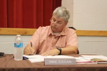 Ogemaw County school board member Mike Eagan