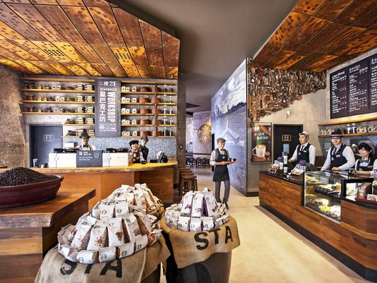 Starbucks is opening two flagship stores in China, featuring new, bold design concepts to delight customers with an elevated Starbucks experience. (Photo: Starbucks for USA TODAY)