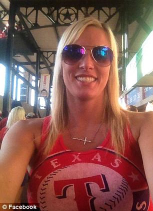 Arrested: Courtney Cox, 29, was charged with disturbing the peace and public drunkenness following an incident on Sunday night