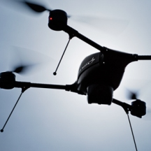 Call them what you want—flying robots, unmanned aircraft, or drones—vehicles such as this 5-pound Indago quadrotor are changing the skies over America. Craig Cutler