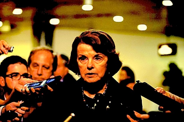 Sen. Dianne Feinstein (D-California) and chair of the Senate Intelligence Committee, is among many government officials uttering misstatements in the wake of the Edward Snowden NSA leaks. Photo: Jacquelyn Martin/AP