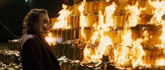 Joker-billionaire-burning-money