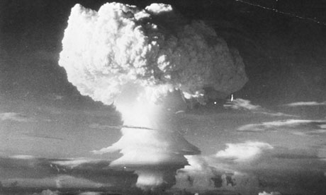 The bomb that nearly exploded over North Carolina was 260 times more powerful than the device which devasted Hiroshima in 1945. Photo: Three Lions/Getty Images