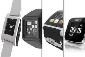 Pebble, MetaWatch, i'm Watch, Sony