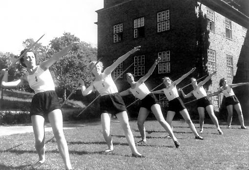 Vortex of power: German women 'adapted' to war. Image: Underwood Archives/ Getty Images