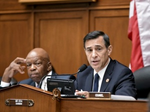 Darrell Issa attending House Oversight and Government Reform Committee / AP - See
