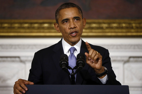 Obama avoids discussing ObamaCare at the White House yesterday. Associated Press