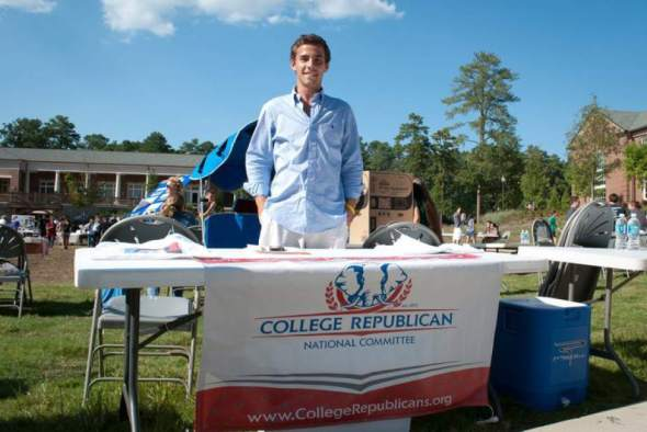 Elliot Echols, 23, of Rome, Ga., the Republican Party's first national youth director, recruited for the party while at Berry College in 2011.  Read more: http://triblive.com/politics/salenazito/4941076-74/echols-gop-party#ixzz2ivNhRGRZ  Follow us: @triblive on Twitter | triblive on Facebook