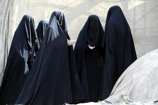 Turkish Shiite women attend a ceremony in Istanbul