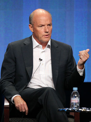 President of MSNBC Phil Griffin speaks during the 'MSNBC' panel during the NBC Universal portion of the 2011 Summer TCA Tour held at the Beverly Hilton Hotel on August 2, 2011 in Beverly Hills, California.  (Photo by Frederick M. Brown/Getty Images)