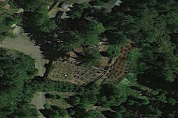 Google Earth This satellite image shows the location of an field where marijuana was allegedly grown.