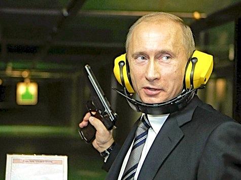 Putin, Bang Bang, guns good