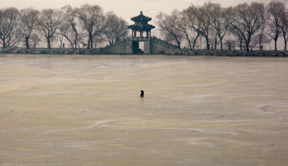 Beijing's Summer Palace, in winter. (David Gray/Reuters)
