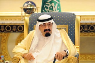 Saudi King Abdullah bin Abdul Aziz in Riyadh, May 2012. Fayez Nureldineafp / AFP / Getty Images