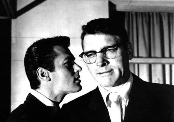 "Burt Lancaster, right, and Tony Curtis in ""Sweet Smell of Success"""