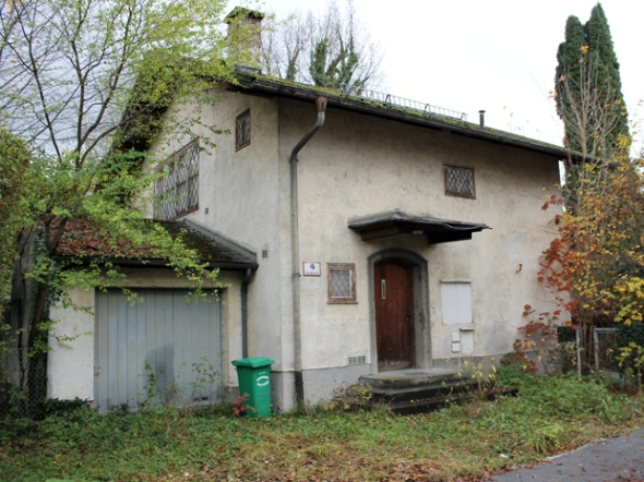 The Austrian home of German Cornelius Gurlitt in Salzburg, Austria, on Nov. 11, 2013. The German government said some 590 artworks discovered in Gurlitt's Munich apartment may have been looted by the Nazis from Jewish collections.