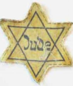 Sellers have been cashing in on the stars that Jewish people were forced to wear