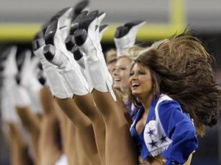 Dallas Cowboys cheerleaders (LM Otero/AP)