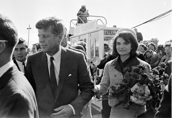 AP Photo / File The couple shortly before President Kennedy was assassinatedAP Photo / FileThe couple shortly before President Kennedy was assassinated