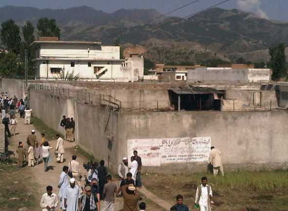 The house where Osama bin Laden was finally hunted down. SAEED SHAH — MCT  Read more here: http://www.mcclatchydc.com/2013/12/20/212378/zero-dark-thirty-leak-investigators.html#storylink=cpy