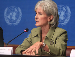 Kathleen Sebelius, Secretary of Health and Human Services. (Photo credit: US Mission Geneva)