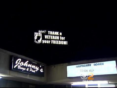 Bar-Thank-a-Vet-Sign-CBS-TV