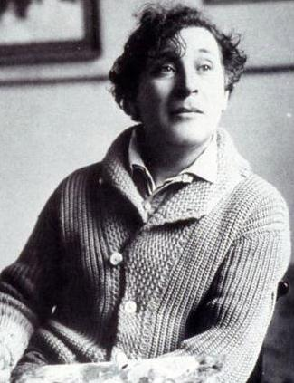 Marc Chagall in Paris, 1921
