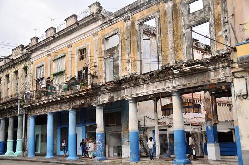 Crumbling Havana