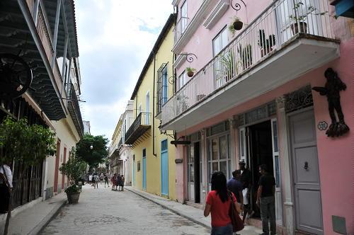 Nice Narrow Street Havana