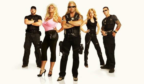 The cast of Dog the Bounty Hunter (A&E)