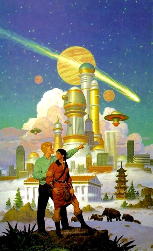 City of the Future by Tim Hildebrandt