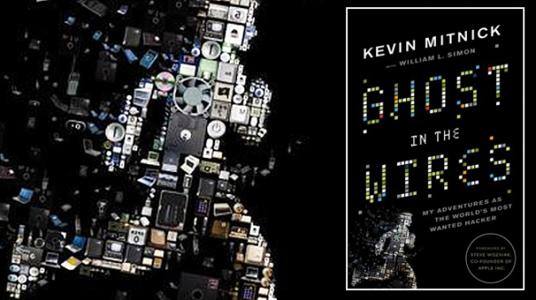 """The cover of """"Ghost in the Wires,"""" the autobiography of notorious computer hacker and security expert Kevin Mitnick. (LITTLE, BROWN & COMPANY)"""