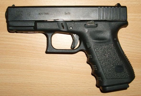 Glock. The Austria-based company made 23,752 handguns at its Georgia plant in 2011.