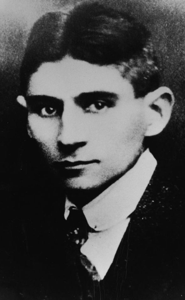 A 1915 portrait of Franz Kafka. Image: Hulton Archive/Getty Images