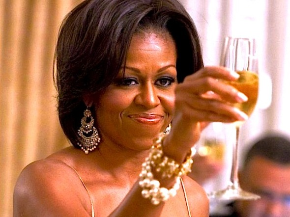 michelle-obama-toast-AFP