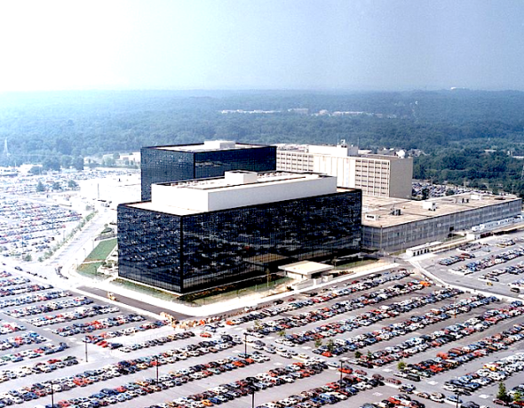 NSA headquarters. Image: Wikimedia Commons