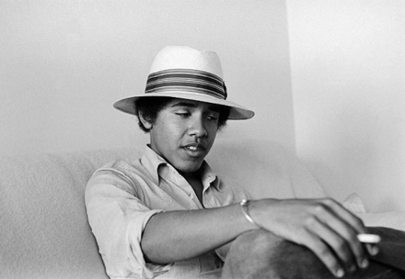 Obama-On-The-Barf-Couch-looking-stoned