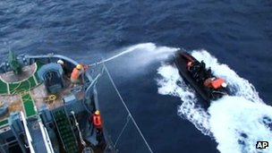 There have been numerous clashes between the whalers and Sea Shepherd vessels in the past