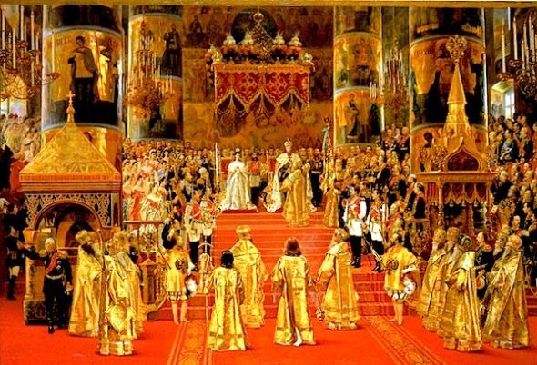 Coronation of Tsar Alexander lll