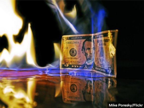 dollar-flames-flickr