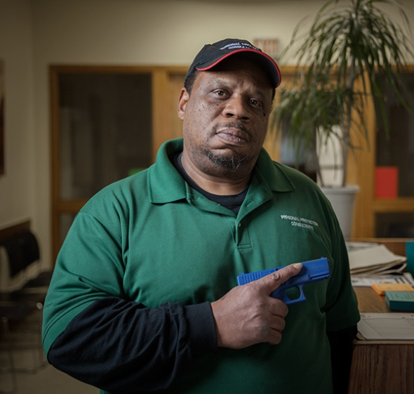 Gerald Vernon has been a firearm owner and activist for decades, but he doesn't fit the stereotype of a gun nut. JOHN STURDY