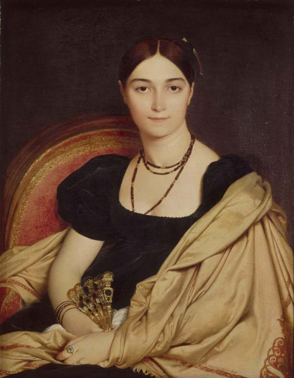 Portrait of Madame Devaucay by Jean-Auguste-Dominique Ingres, 1807. Musée Condé, Chantilly. Photo by Getty