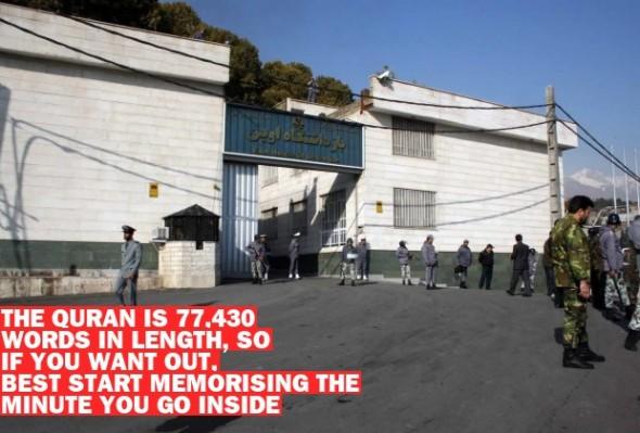 Iran's Evin prison (Wikipedia/Ehsin Iran)