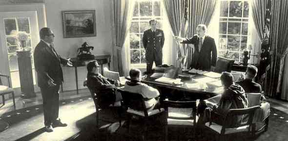 Nixon oval office