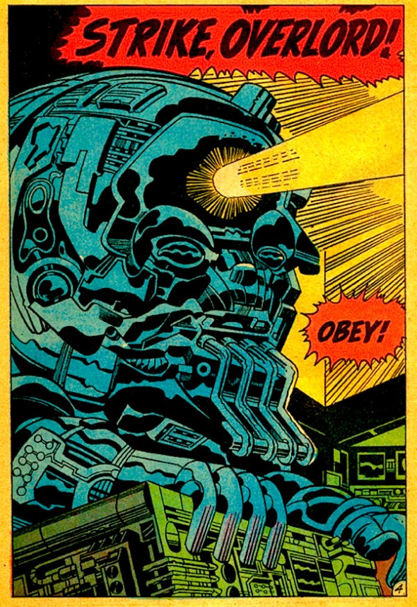 Kirby Tech: Overlord, Granny Goodness's personal computer. Mister Miracle Super Escape Artist #2. Jack Kirby. June, 1971.
